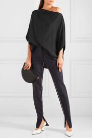 Jil Sander Oversized silk top