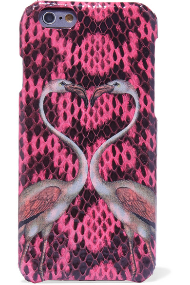 The Case Factory - Printed Elaphe Iphone 6 Case - Pink