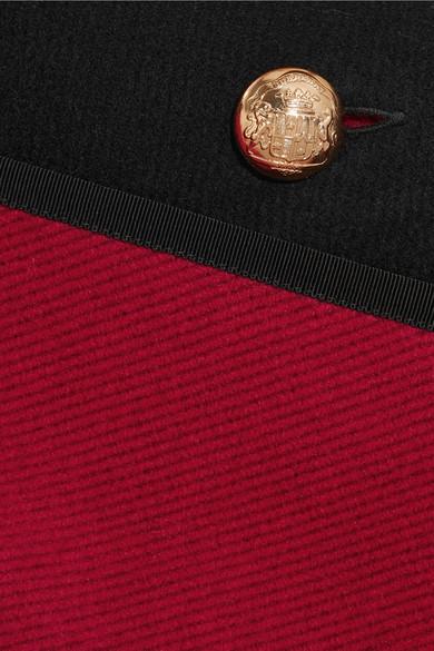 Burberry Poncho aus einer doppellagigen Woll-Kaschmirmischung