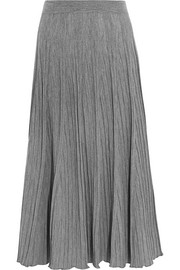 Chloé Ribbed wool-jersey maxi skirt