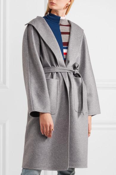 max mara lilia belted cashmere coat net a porter com. Black Bedroom Furniture Sets. Home Design Ideas