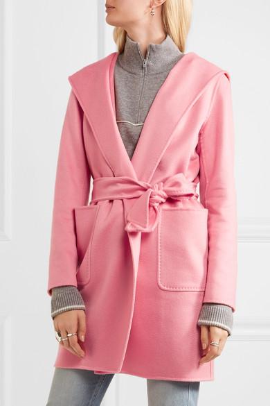 Max Mara | Hooded cashmere coat | NET-A-PORTER.COM