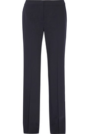 Duomo stretch-wool wide-leg pants