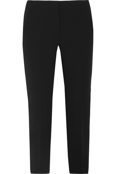 Alpe Cropped Stretch-wool Slim-leg Pants - Black Max Mara Quality Free Shipping For Sale Outlet Latest Collections Exclusive Cheap Price zunLY2
