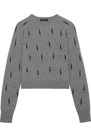 Ryder intarsia cashmere sweater