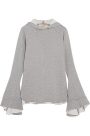 Maggie Marilyn Quietly Confident organic cotton-jersey hooded top
