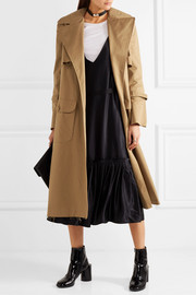 Maggie Marilyn Be Mine oversized cotton-twill trench coat