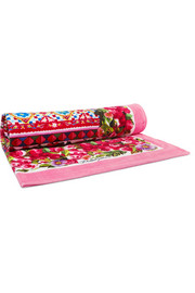 Dolce & Gabbana Printed cotton-terry towel