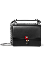 Fendi Mini leather shoulder bag