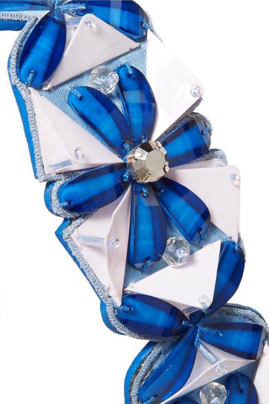 Fendi Verzierter Taschenträger aus Leder