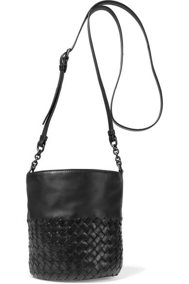 b55fdc3fa41f Bottega Veneta. Intrecciato leather bucket bag