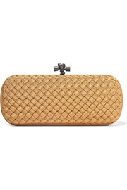 The Knot intrecciato grosgrain clutch