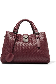 Roma mini intrecciato leather tote