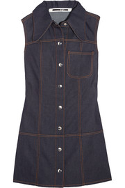 McQ Alexander McQueen Marianne denim mini dress