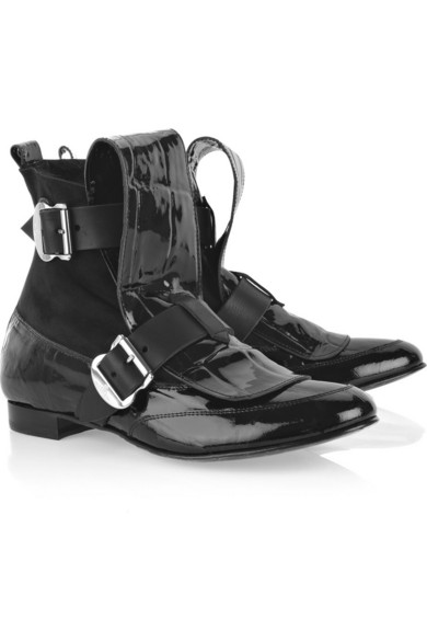 outlet choice sale pictures Vivienne Westwood Leather Ankle Boots cheap sale free shipping outlet discounts best wholesale for sale 3q2szz