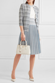 Bottega Veneta Pleated jacquard-knit dress
