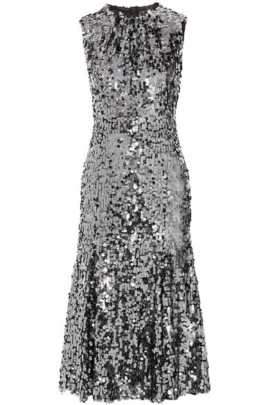Sequined Stretch-tulle Gown - Black Dolce & Gabbana XrCytgzSS8