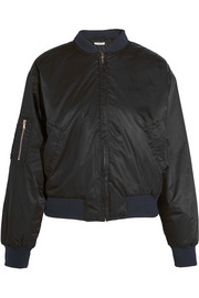 Greenwood shell bomber jacket