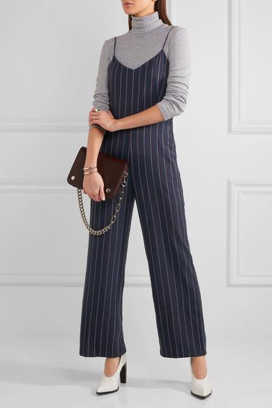 1d33d55ba61 GANNI. Oakwood striped twill jumpsuit