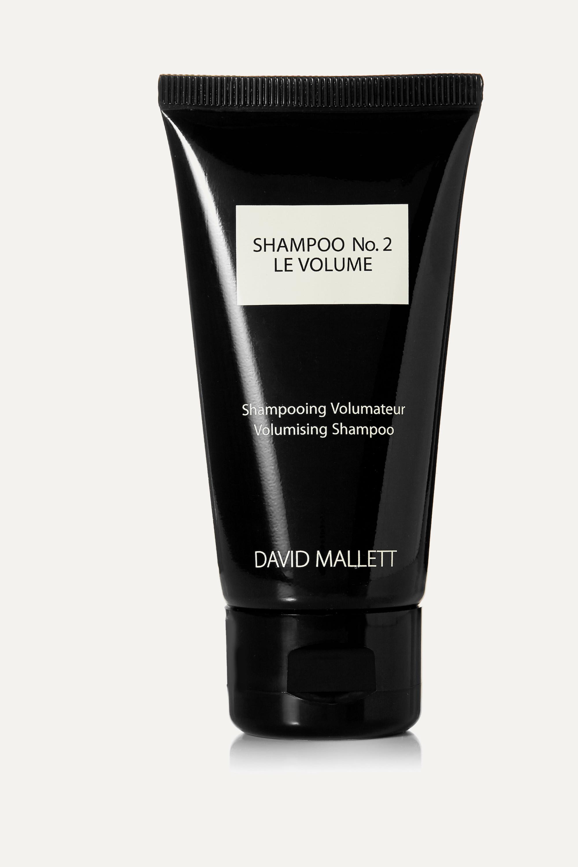 David Mallett Shampoo No.2: Le Volume, 50ml