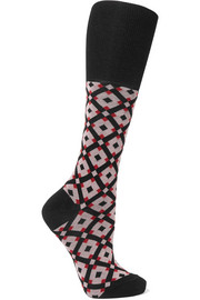 Marni Intarsia cotton-blend socks