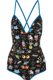 Fendi Printed swimsuit