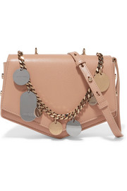 Jimmy Choo Arrow embellished textured-leather shoulder bag