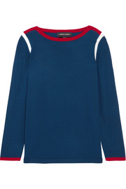 Vanessa Seward Desmond color-block merino wool sweater
