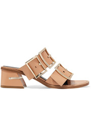 Tibi Kari leather mules