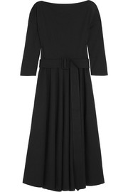 Tomas Maier Atomic belted stretch-jersey dress