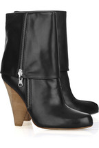 Belle Sigerson Morrison Fold-over leather boots