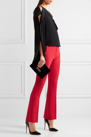 Versace Stretch-crepe flared pants