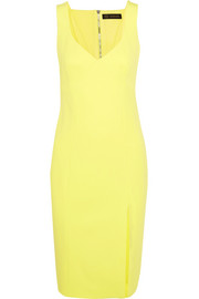 Stretch-crepe dress