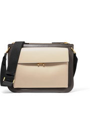 Marni Pocket Bandoleer leather shoulder bag