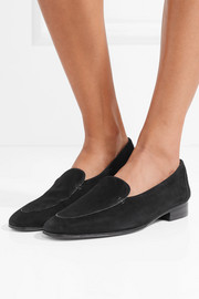 Adam suede loafers