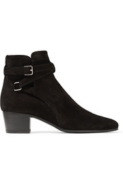 Saint Laurent Bottines en daim Blake