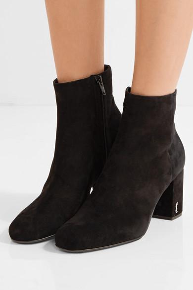 Saint Laurent Suede ankle boots sale 100% guaranteed cheap websites UzcJ1hywp