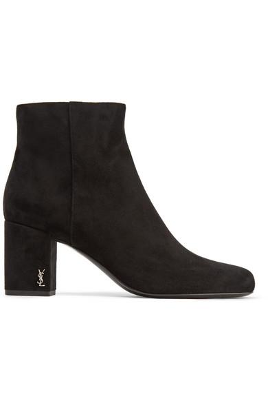 Saint LaurentSuede Babies Boots tcxd1tPgqX