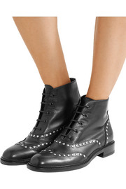 Saint Laurent Lolita studded leather ankle boots