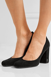 Saint Laurent Babies suede pumps