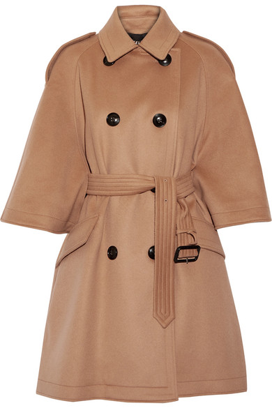 Burberry - Wool And Cashmere-blend Coat - Camel