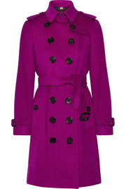 Burberry The Sandringham cashmere trench coat