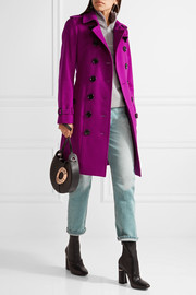 BurberryThe Sandringham cashmere trench coat