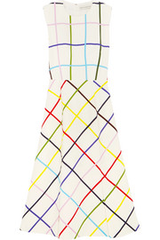Mary Katrantzou Osmond printed stretch-crepe dress