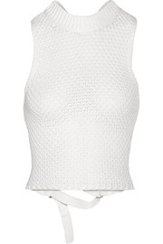 3.1 Phillip Lim Crocheted cotton-blend top