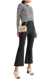 Proenza Schouler Cropped stretch-wool flared pants
