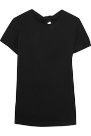 Proenza Schouler Tie-back cotton-jersey T-shirt