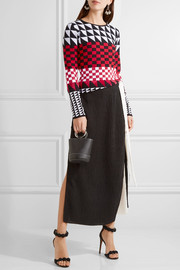 Altuzarra Shiner paneled jacquard-knit sweater