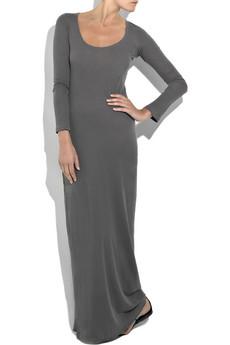Splendid|Cotton-jersey maxi dress|NET-A-PORTER.COM from net-a-porter.com