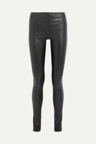 Joseph   Stretch-leather leggings   NET-A-PORTER.COM